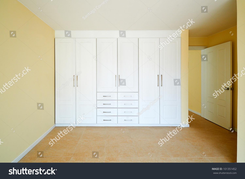 Interior Design Series Bedroom Closet Stock Photo