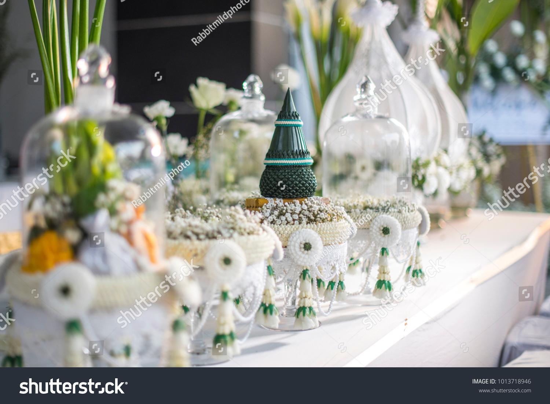 Thai Wedding Ceremony Traditional Groom Gift Stock Photo Edit Now