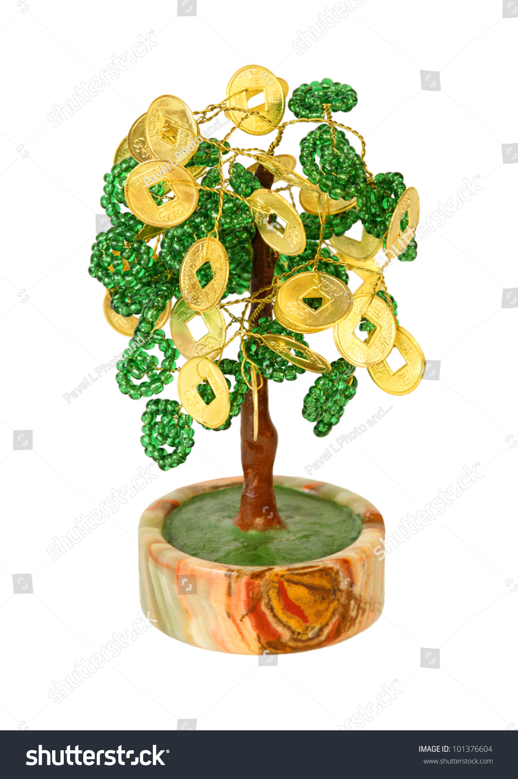 Chinese money tree symbol wealth growth stock photo 101376604 chinese money tree symbol of wealth growth isolated on white background buycottarizona Images