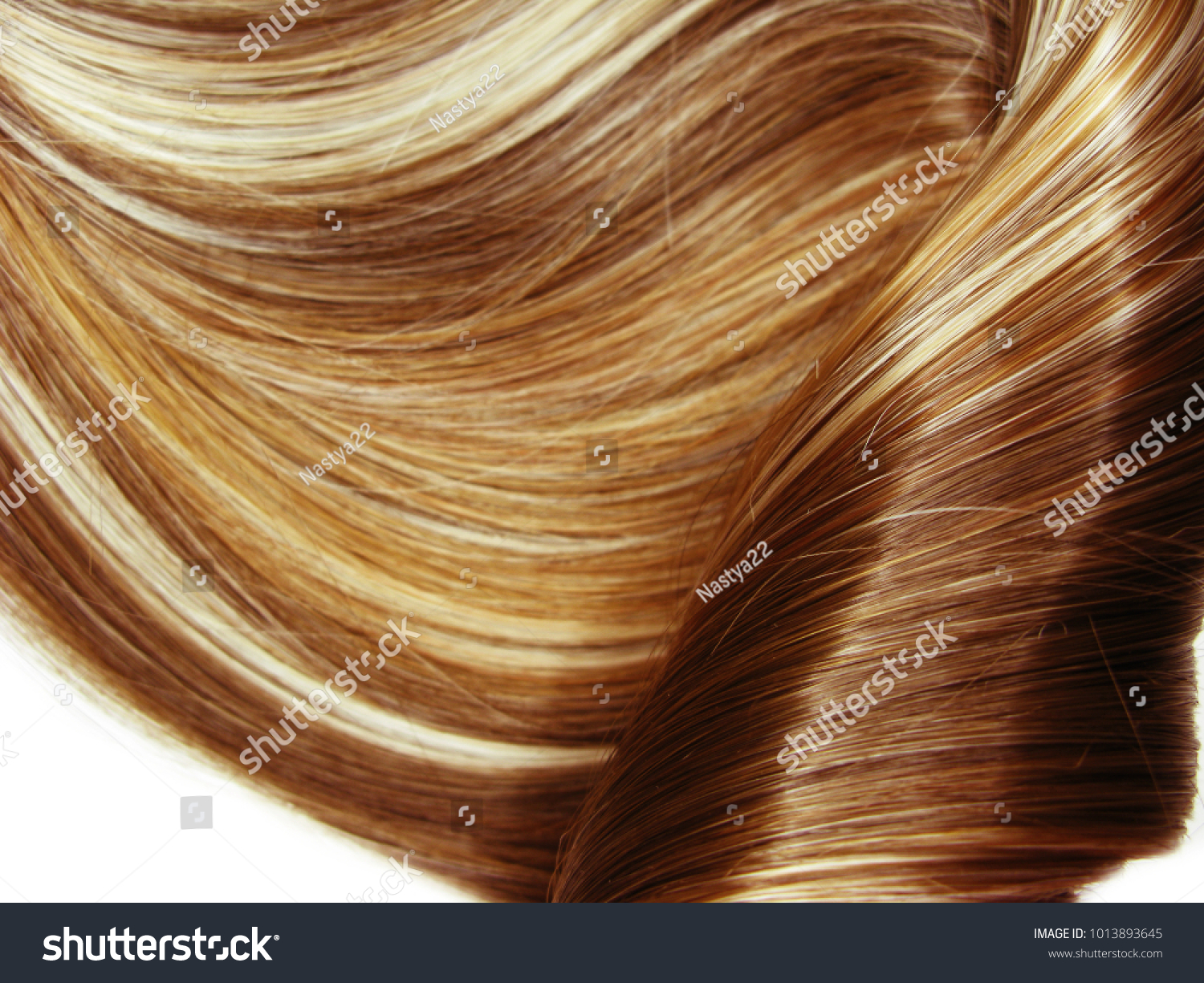 Highlight Hair Texture Abstract Fashion Style Stock Photo Safe To