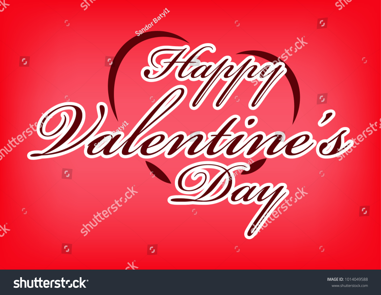 Valentines day sticker valentines day card stock vector 1014049588 valentines day sticker valentines day card greeting cards love kristyandbryce Choice Image