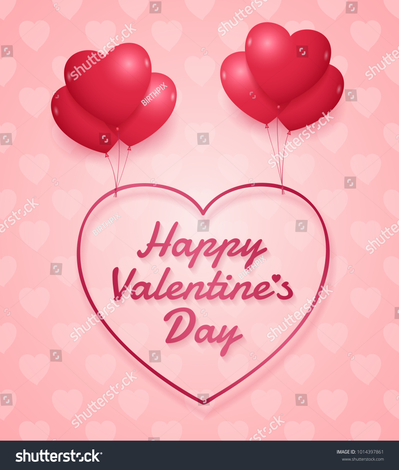 Annual Valentine S Day Sale Banner Vivid Design Ez Canvas