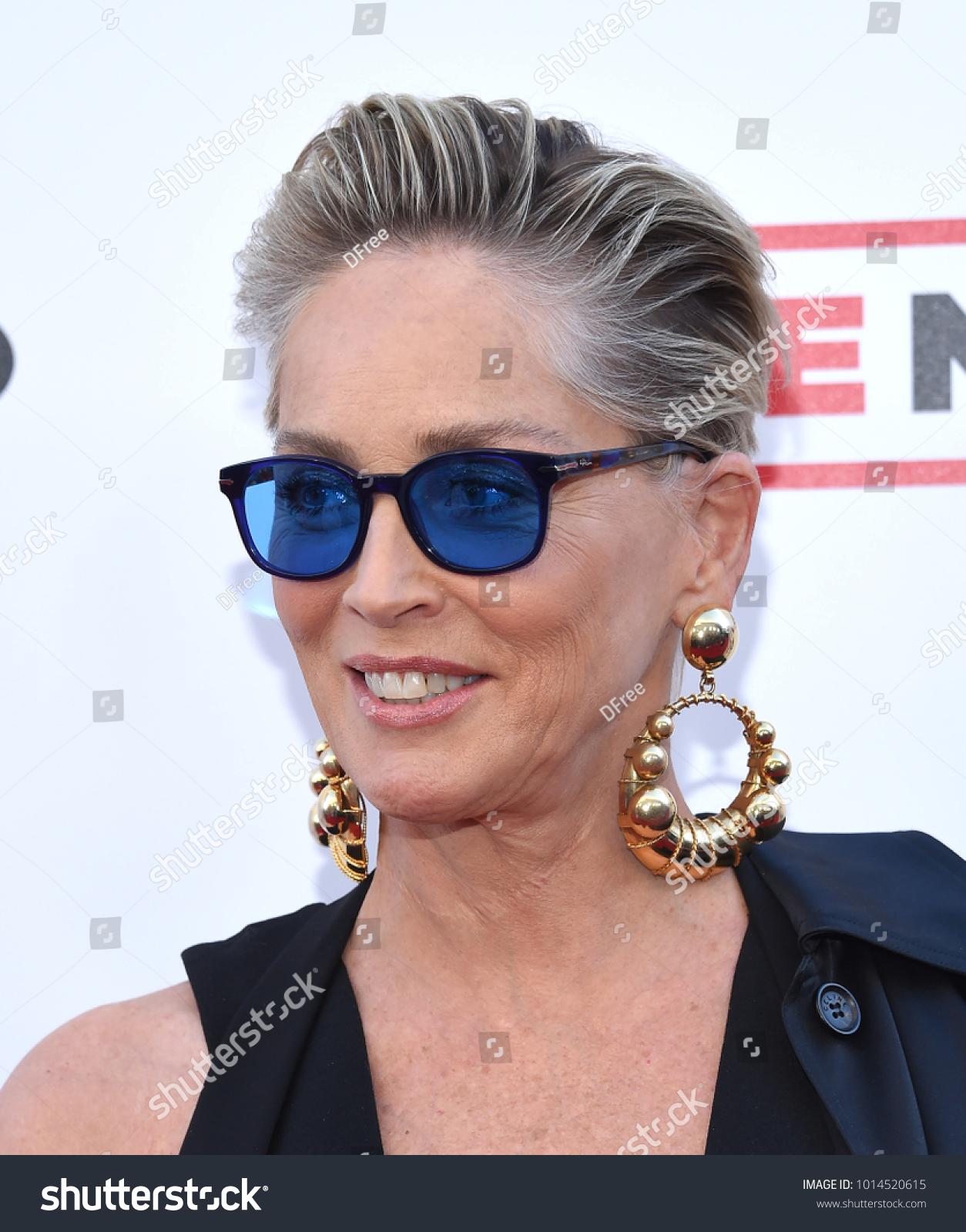 LOS ANGELES JAN 28 Sharon Stone Stockfoto (Jetzt bearbeiten ...