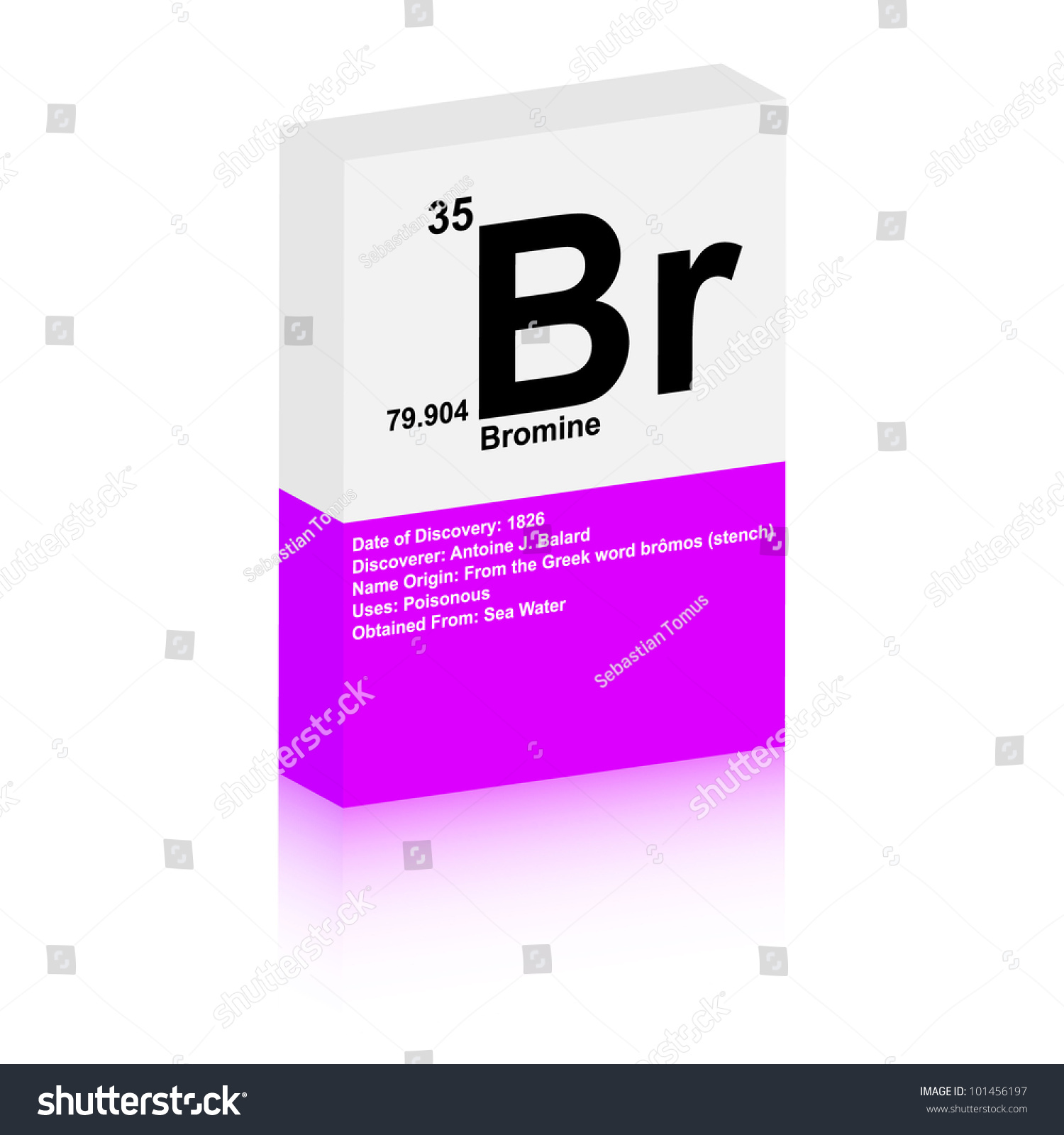 Bromine symbol stock vector 101456197 shutterstock bromine symbol gamestrikefo Image collections