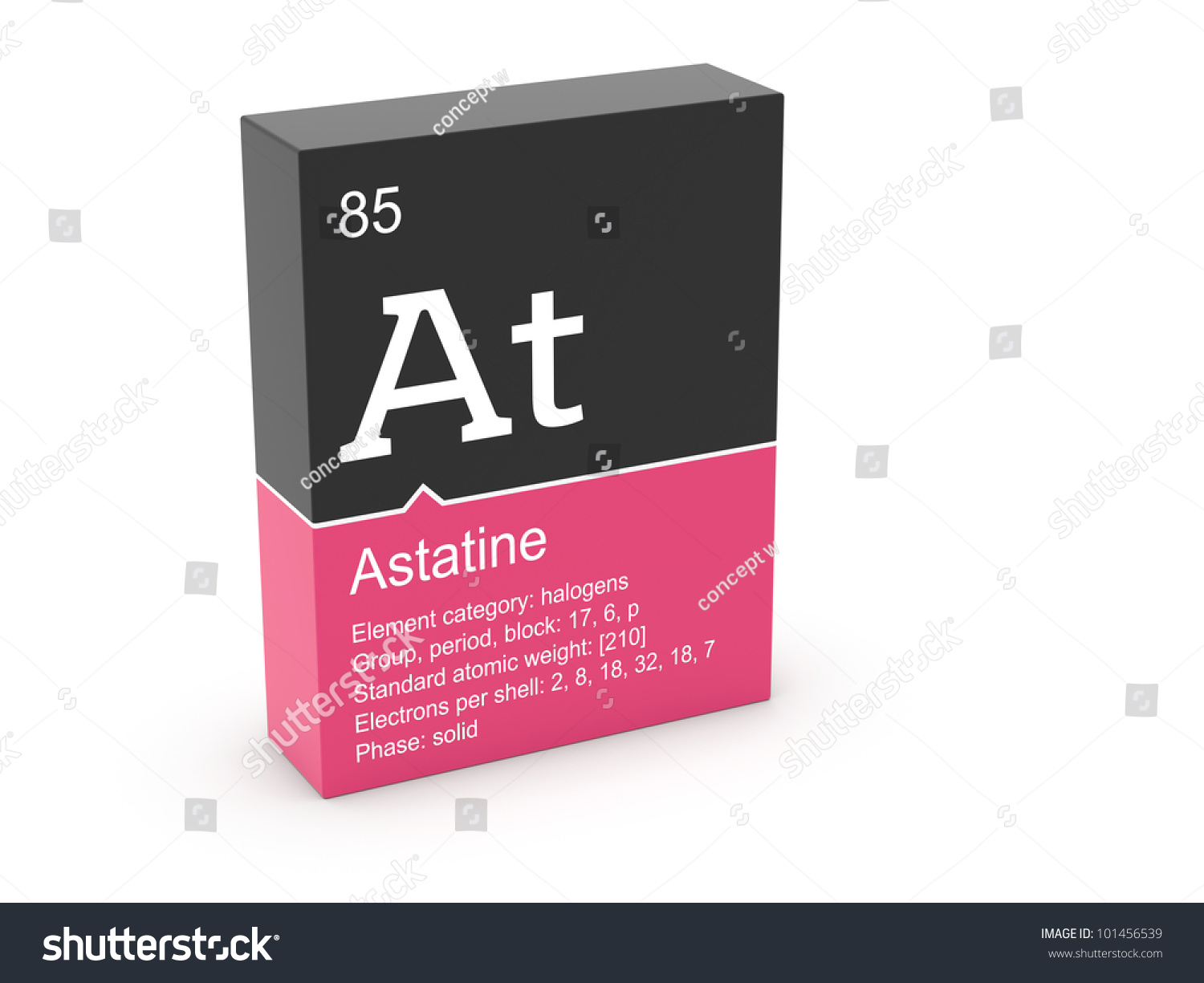 Astatine mendeleevs periodic table stock illustration 101456539 astatine from mendeleevs periodic table urtaz Image collections