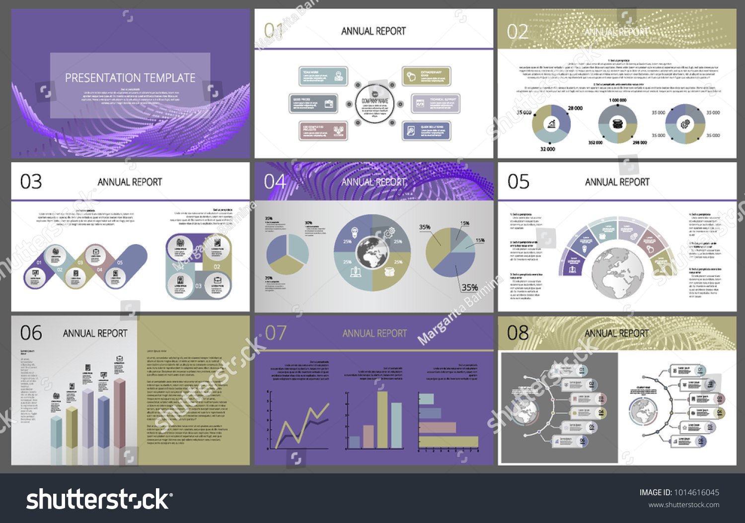 business template layout design cover page stock vector 1014616045