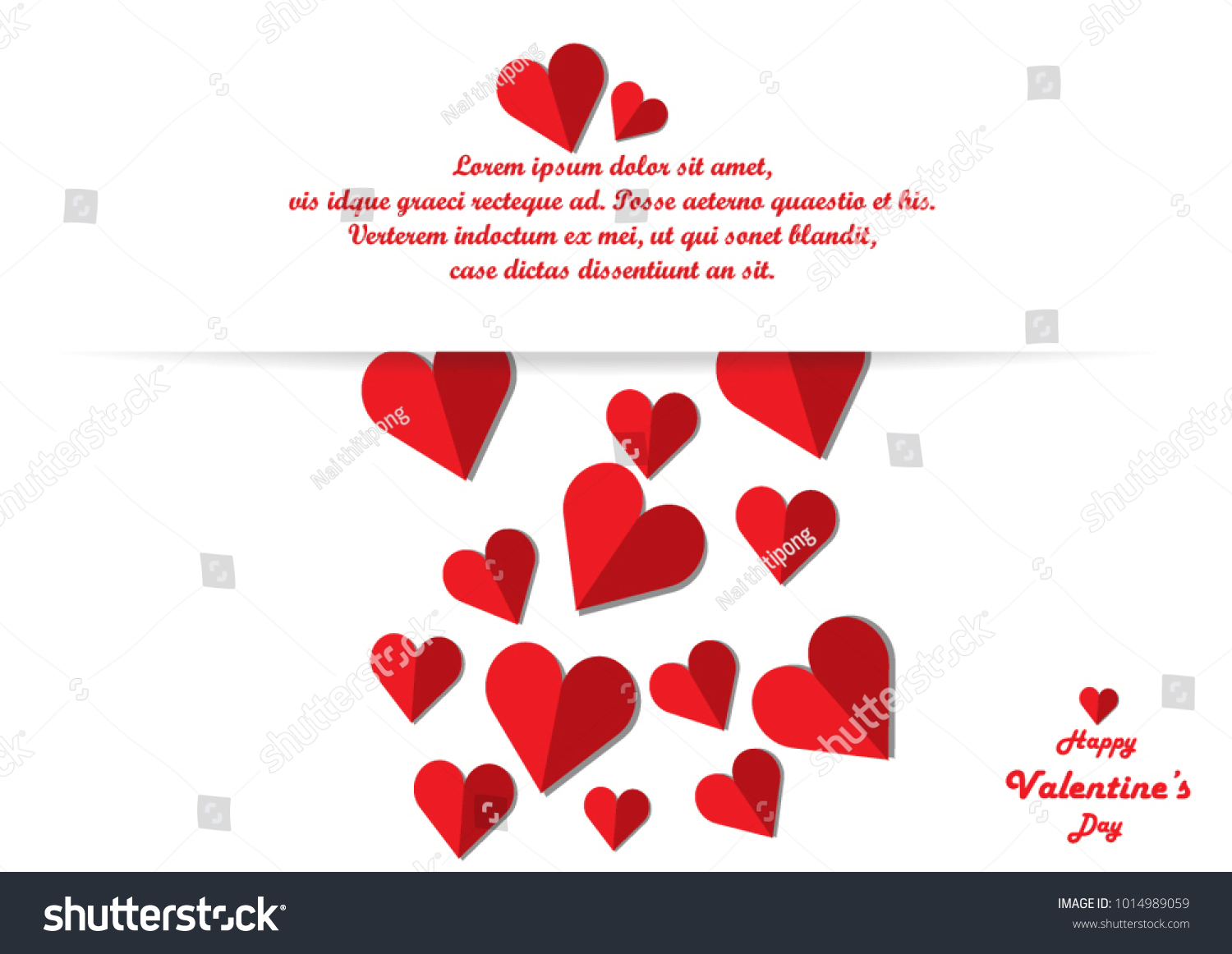 Happy Valentines Day Valentine Card Vector Illustration Wallpaper