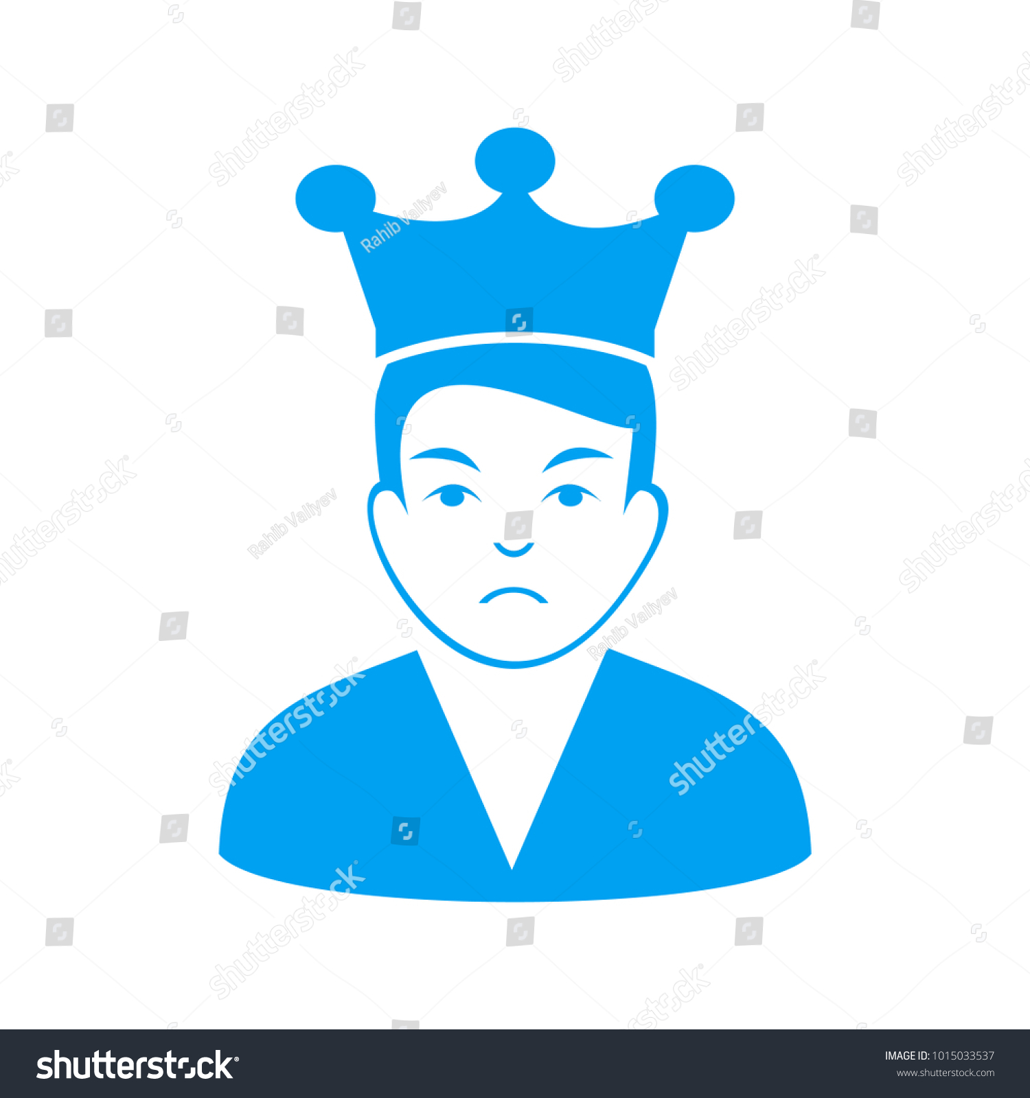 d7108ad7b13 Unhappy Ethereum Lord vector icon. Vector illustration style is a flat  iconic ethereum lord symbol