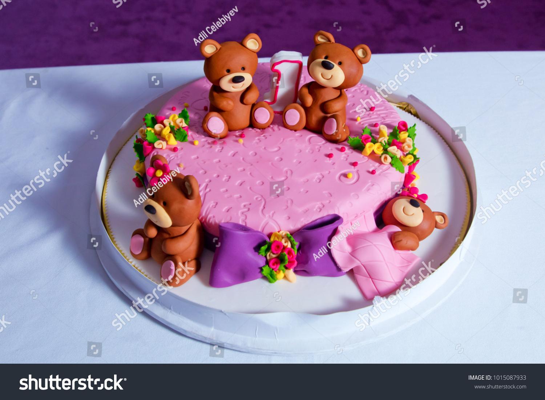Sensational 1 Year Old Birthday Cake Big Stock Photo Edit Now 1015087933 Personalised Birthday Cards Paralily Jamesorg