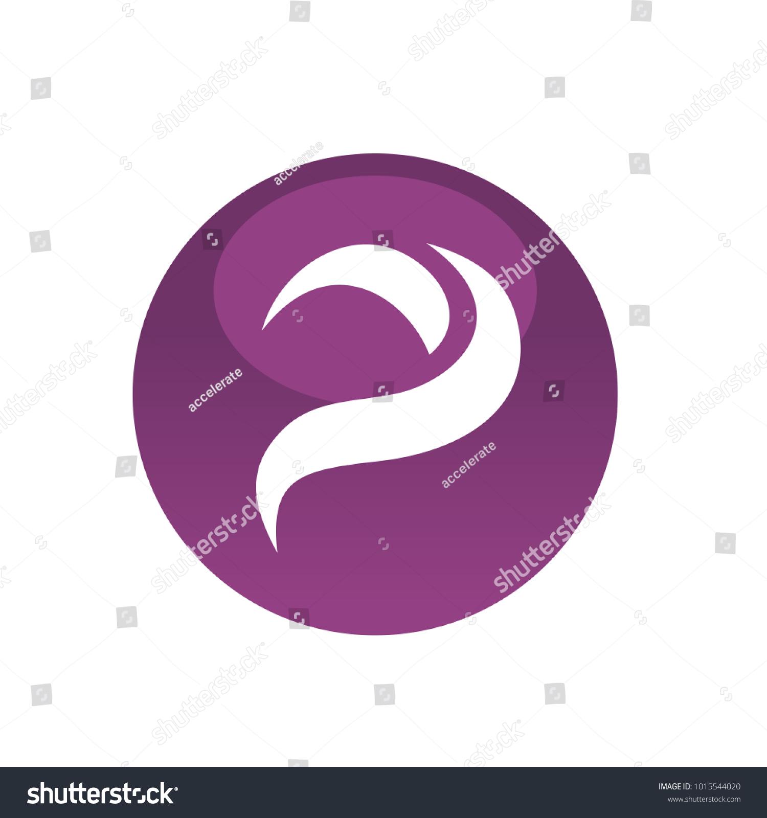 Purple circle letter p symbol icon stock vector 1015544020 purple circle with letter p symbol icon logo element biocorpaavc