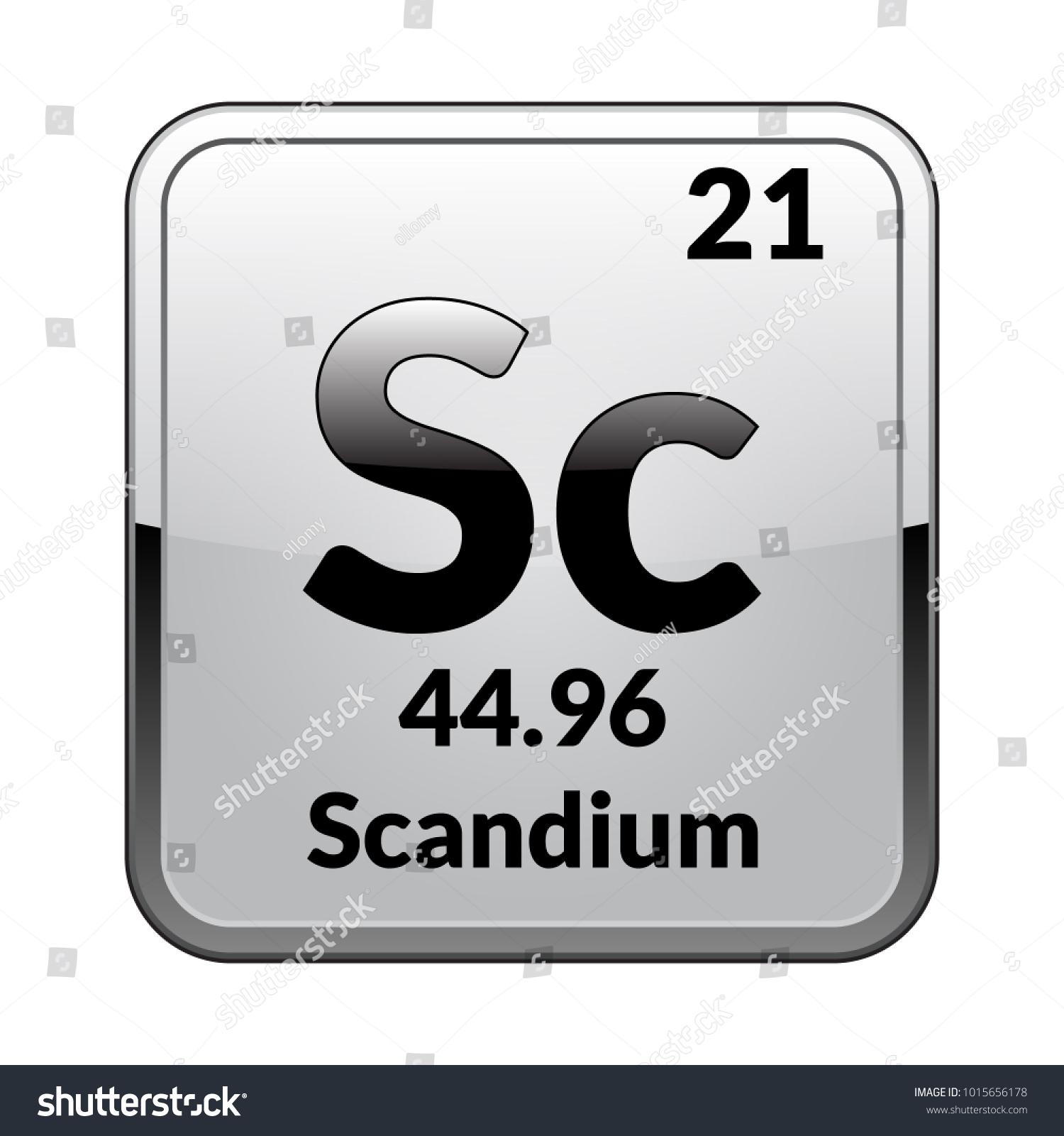 Periodic table symbol cerium choice image periodic table and silvers periodic table symbol choice image symbol and sign ideas scandium symbolchemical element periodic table on urtaz Choice Image