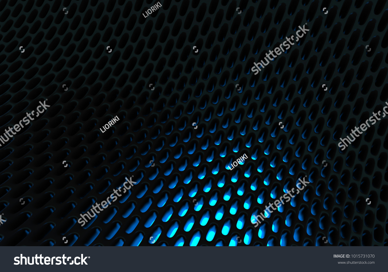 metal mesh grild abstract 3d rendering background in high