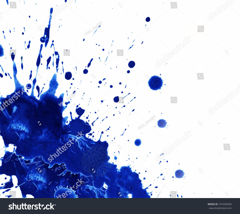 paint splatter background blue - photo #8