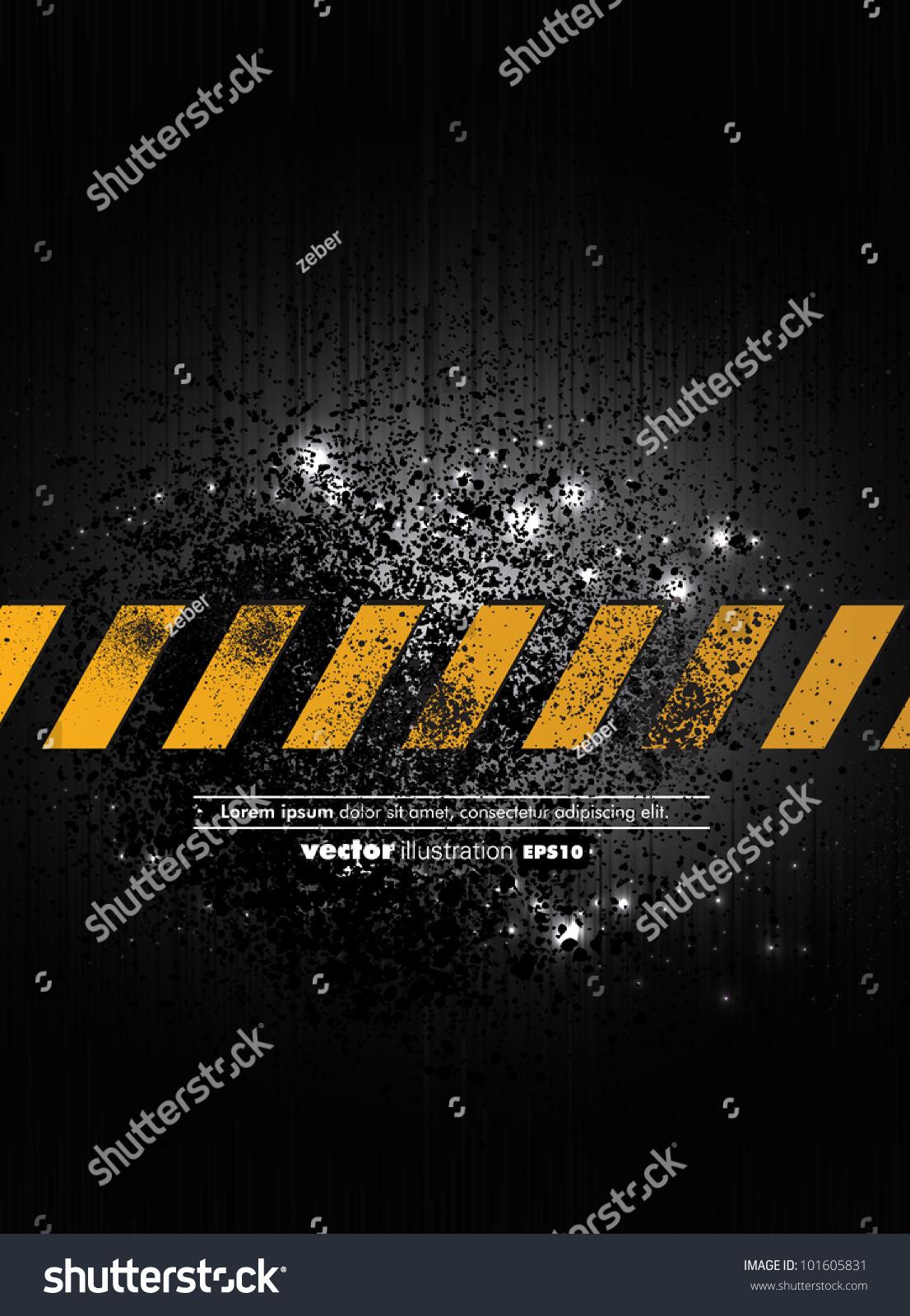 Stock Vector Illustration Of Under Construction Background