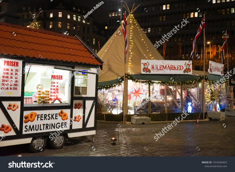 November 26 2017 Oslo Norway Christmas Stock Photo (Edit Now ...