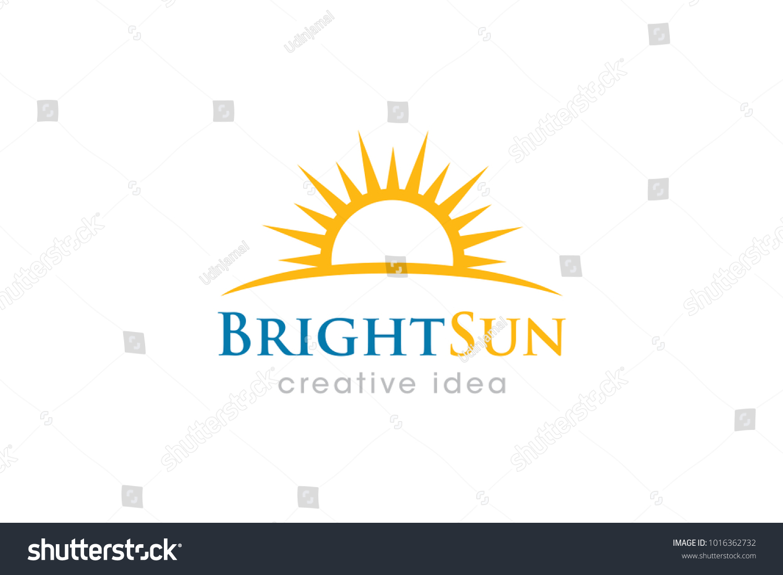 Sun Logo Icon Template Stock Vector 1016362732 - Shutterstock