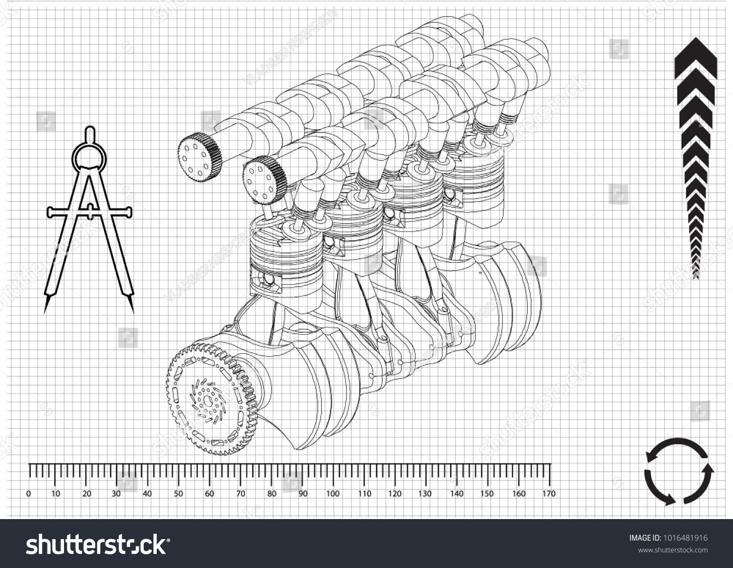 Unusual Car Engine Drawing Gallery - The Best Electrical Circuit ...