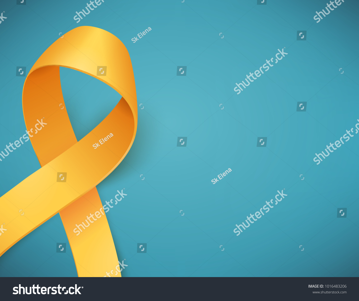 Background childhood cancer awareness day symbol stock vector background for childhood cancer awareness day with symbol realistic gold ribbon vector illustration buycottarizona Images