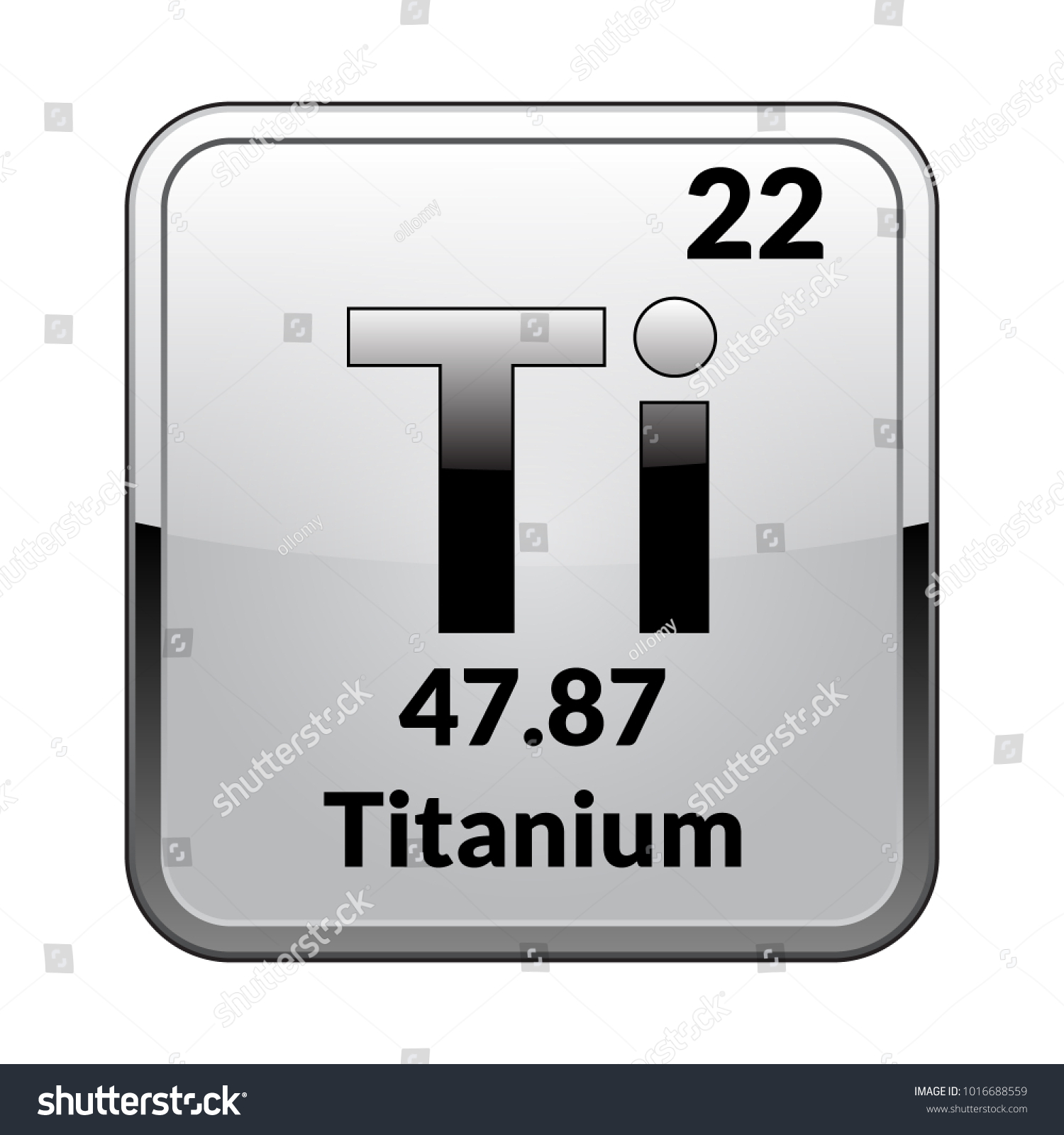 What is the periodic table symbol for silver image collections titanium symbolchemical element periodic table on stock vector titanium symbolemical element of the periodic table on urtaz Image collections