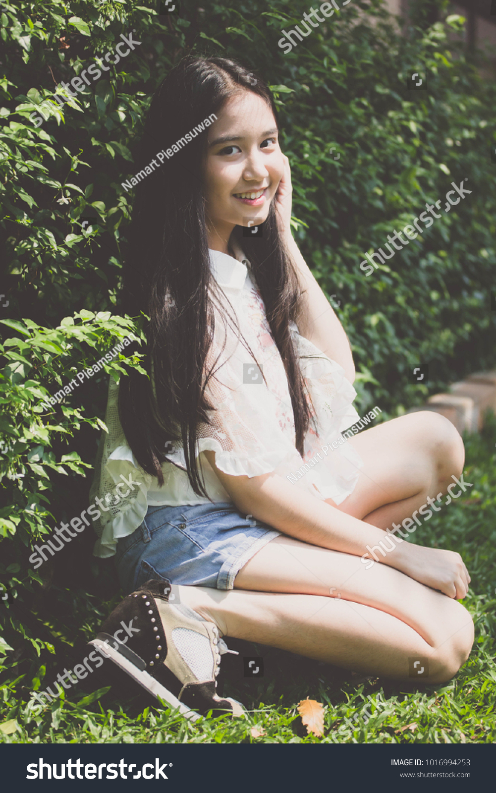 Thai teen girl