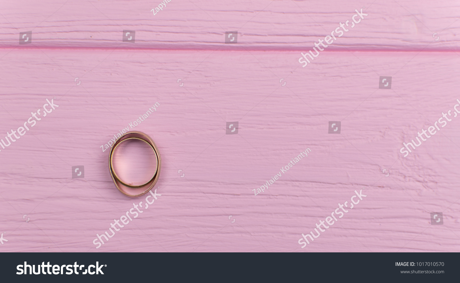 Two Wedding Rings Male Flattened Concept Stock Photo (Royalty Free ...