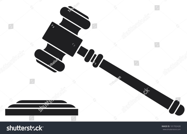 gavel hammer judge auctioneer stock vector 101702428 gravel victoria gravel victoria tx