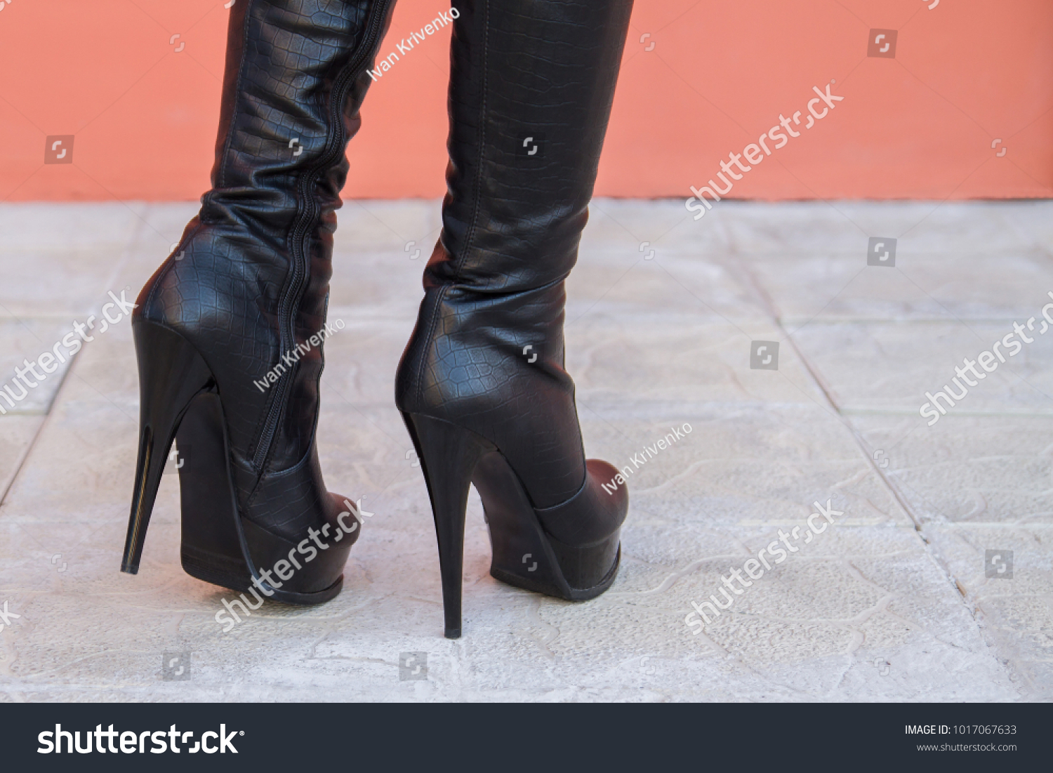 Fetish hot women heels