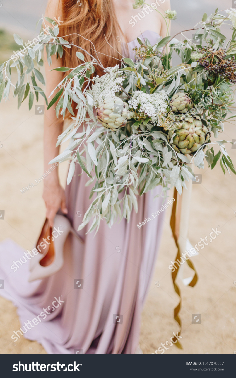 Beautiful Wedding Flower Bouquet Flowers Stock Photo Edit Now