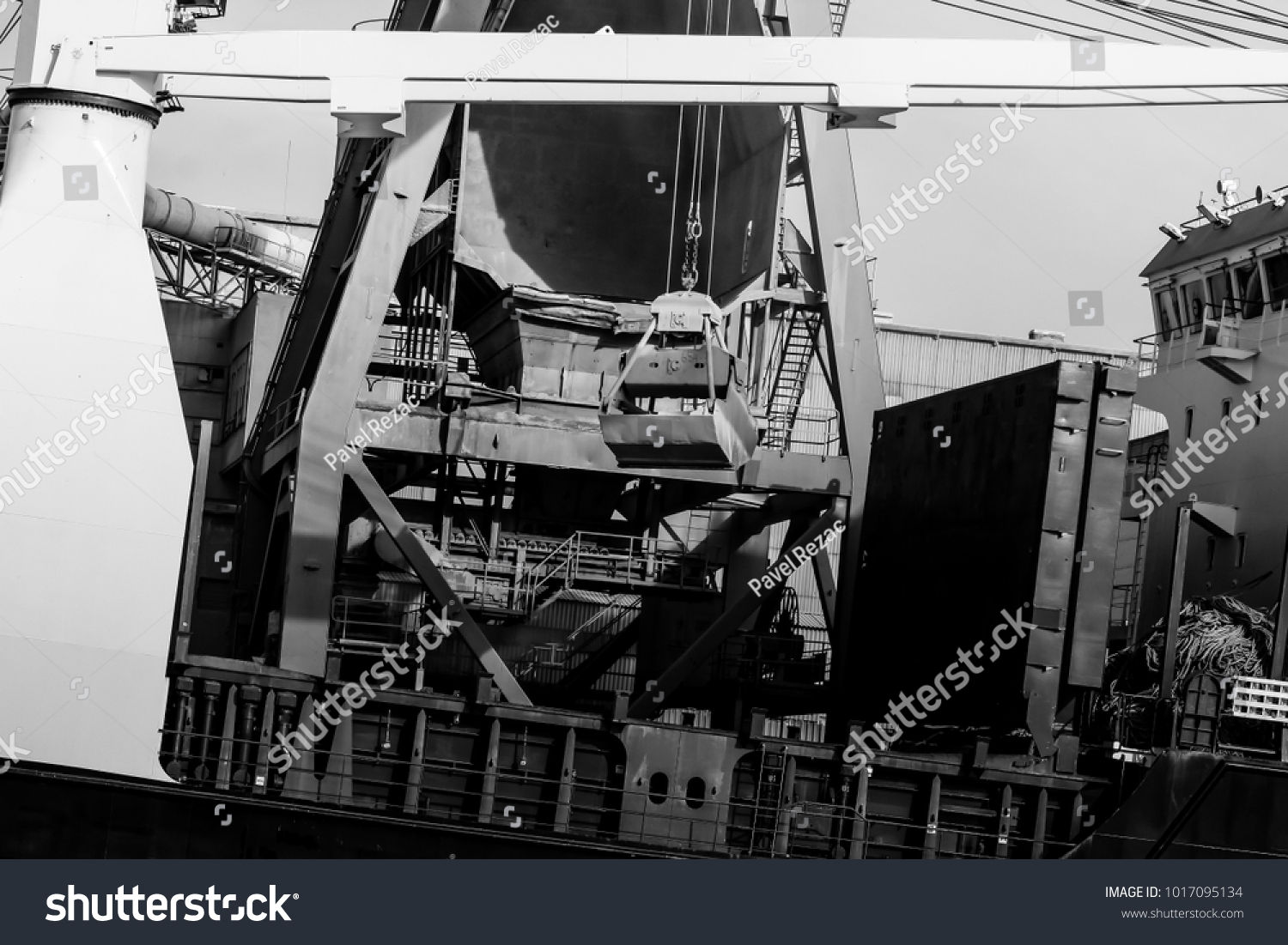 Gdansk shipyard poland retro style black and white cranes old shipyard buildings