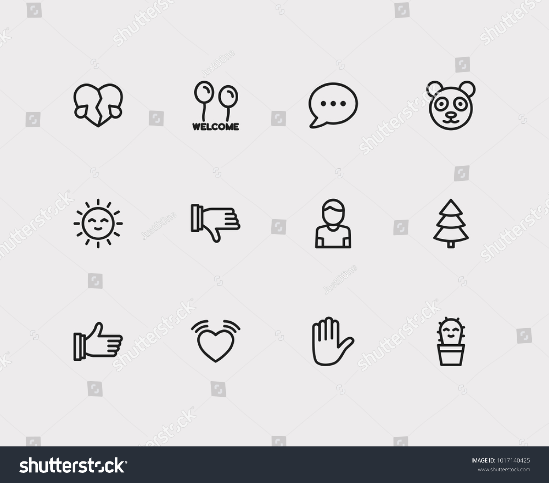 Emoji icons set emoji thumb up stock illustration 1017140425 set of emoji thumb up emoji hand cute cactus emoji sign biocorpaavc Choice Image