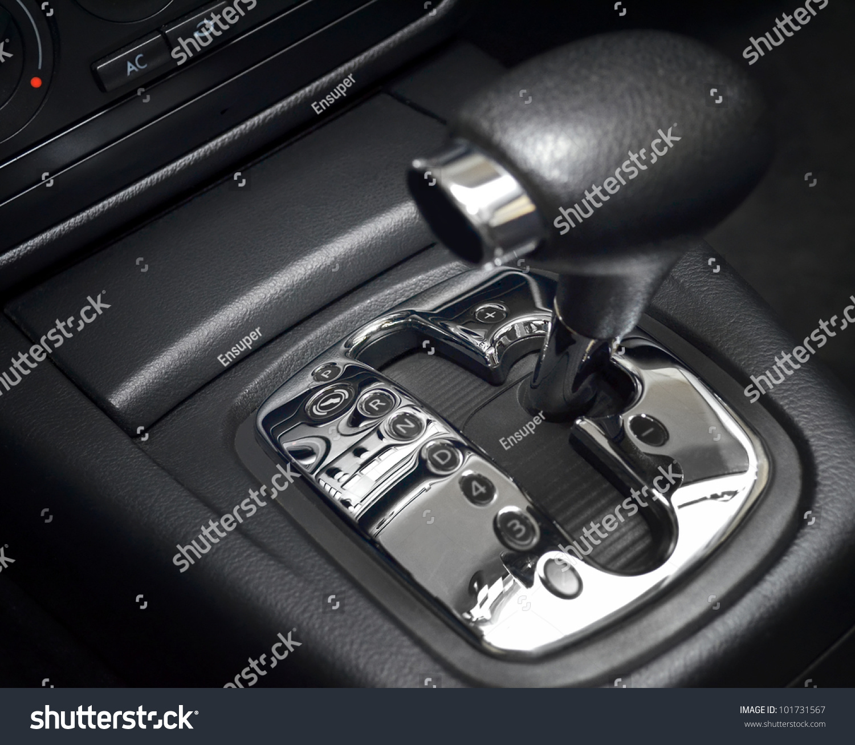 automatic transmission gear shift manual mode stock photo 101731567 shutterstock. Black Bedroom Furniture Sets. Home Design Ideas