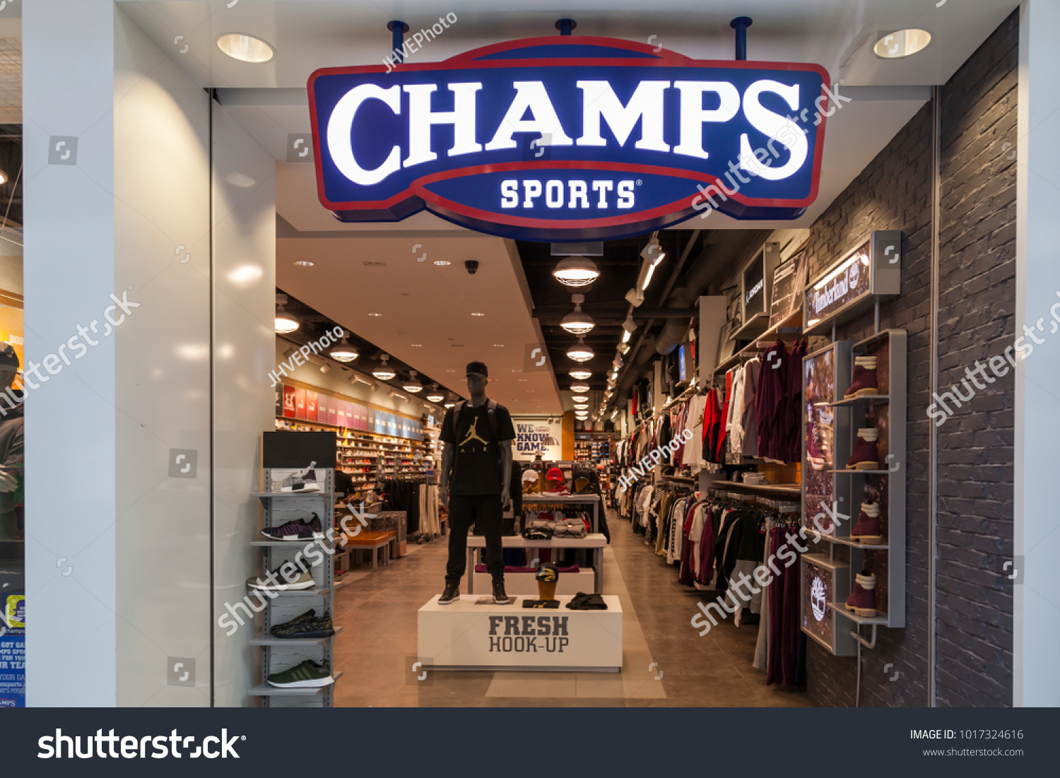 673c22d67a5 TORONTO CANADA JANUARY 19 2018 Champs Stock Photo (Edit Now ...