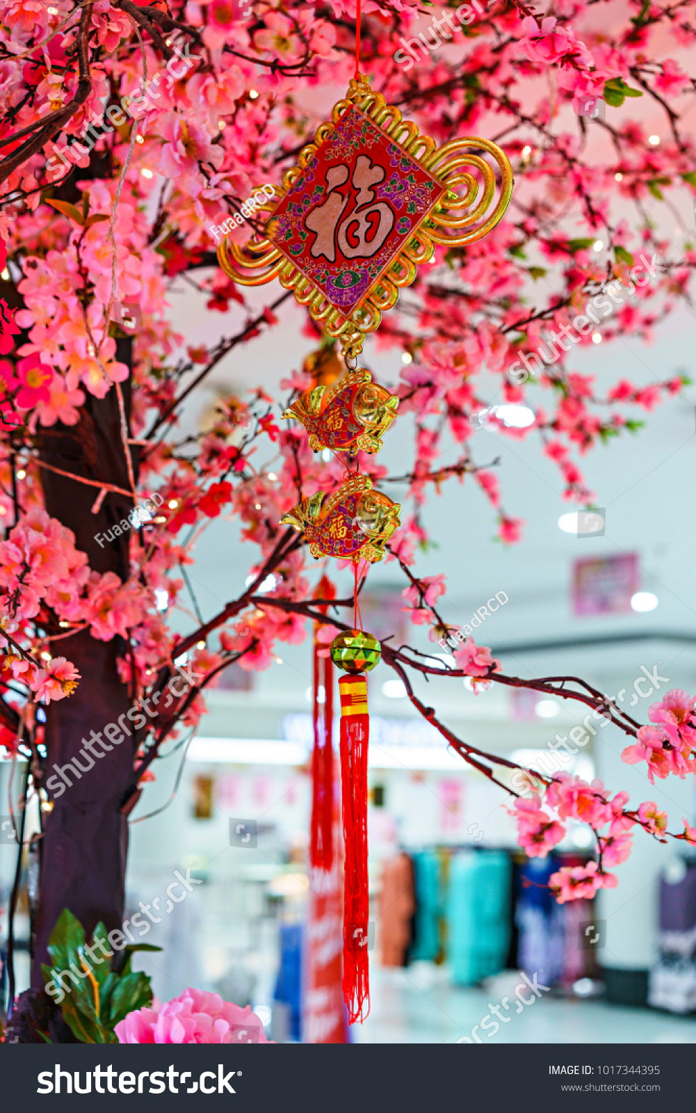 Chinese New Year Hanging Ornament Artificial Stock Photo Edit Now