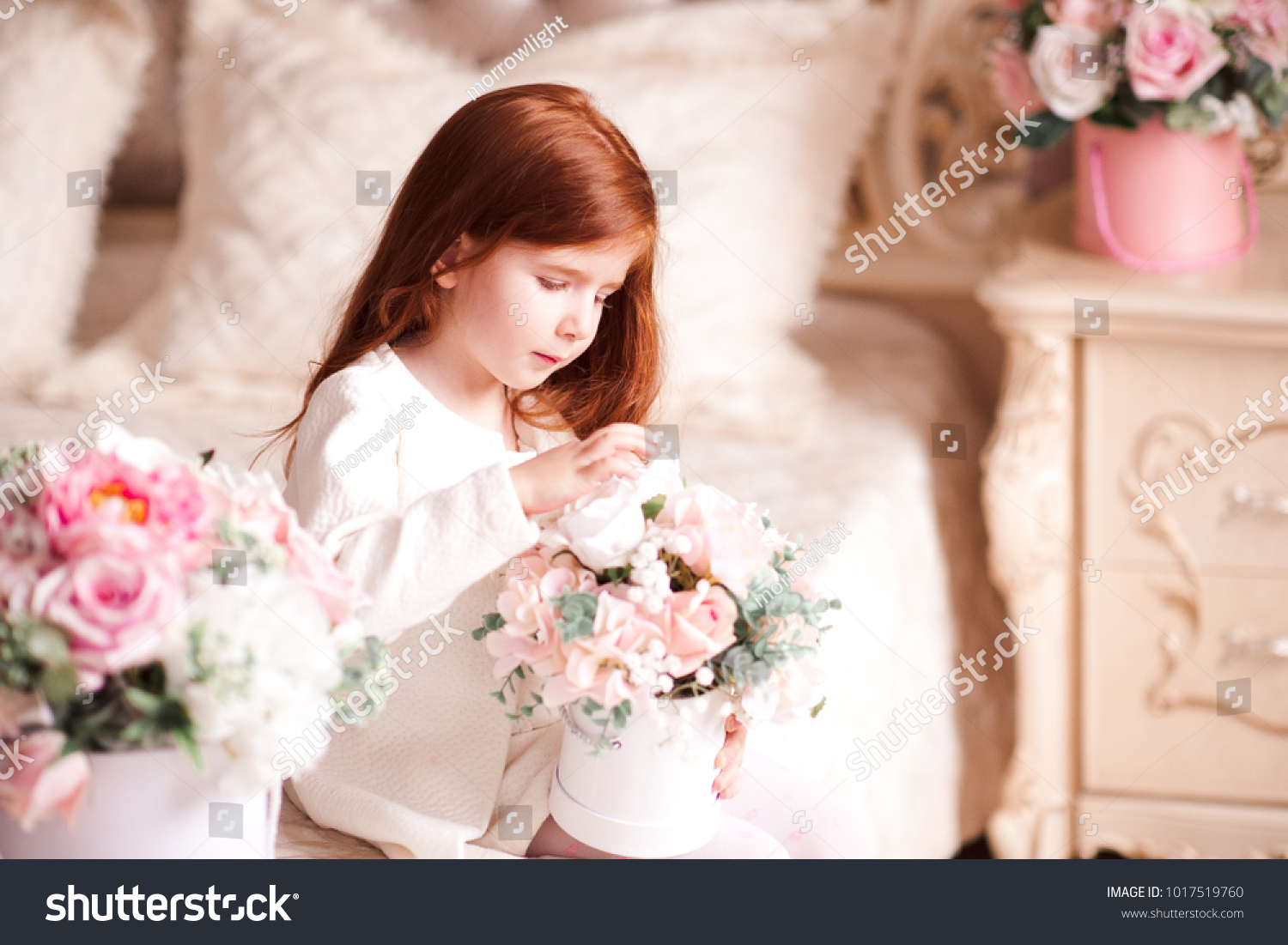 cute baby girl 34 year old stock photo (edit now) 1017519760