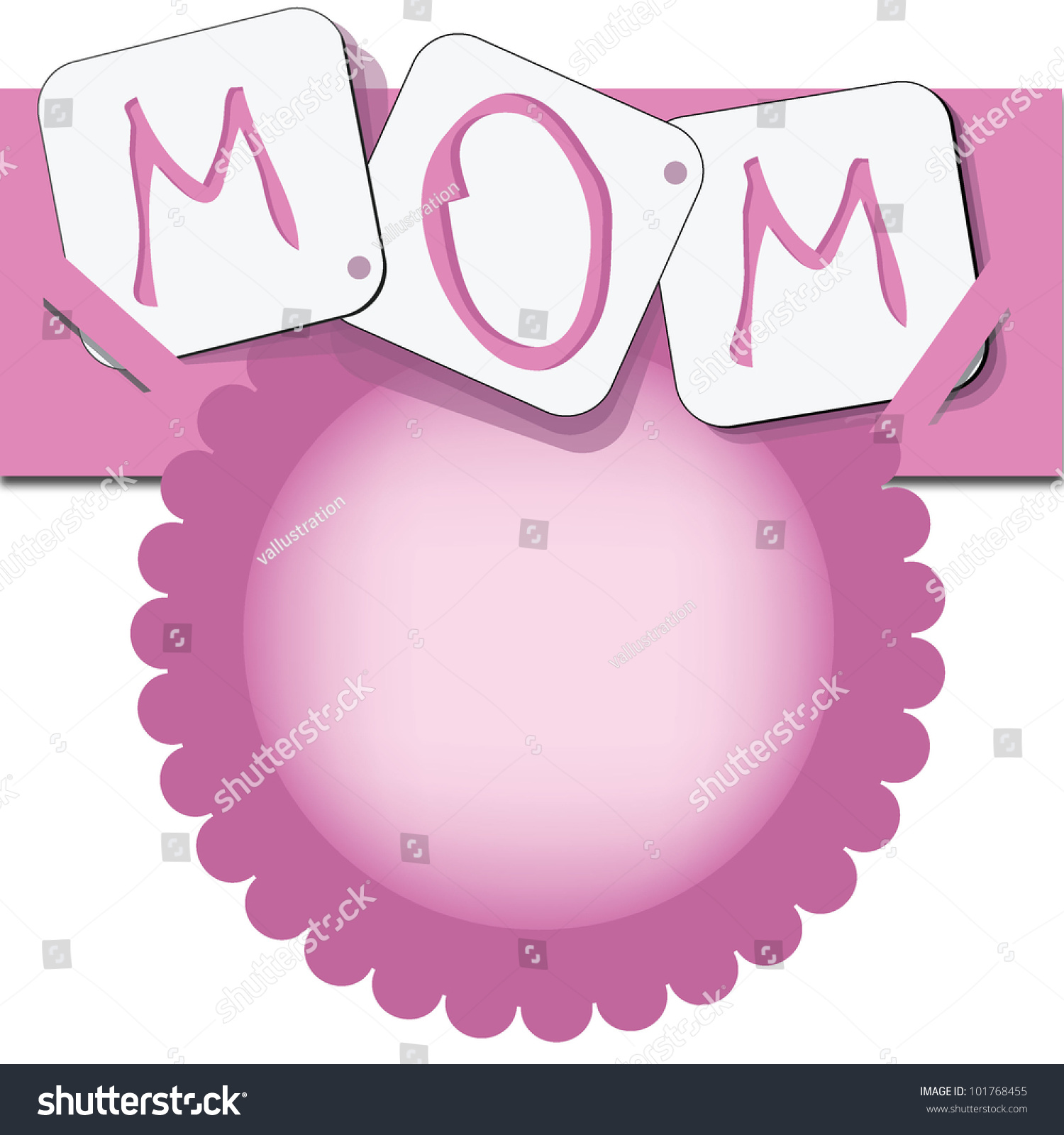 Happy Mothers Day Invitation Card Occasions Vector 101768455 – Mothers Day Invitation Cards