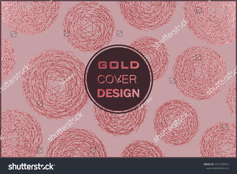 Rose Quartz Glossy Background Metallic Texture Stock Vector Royalty