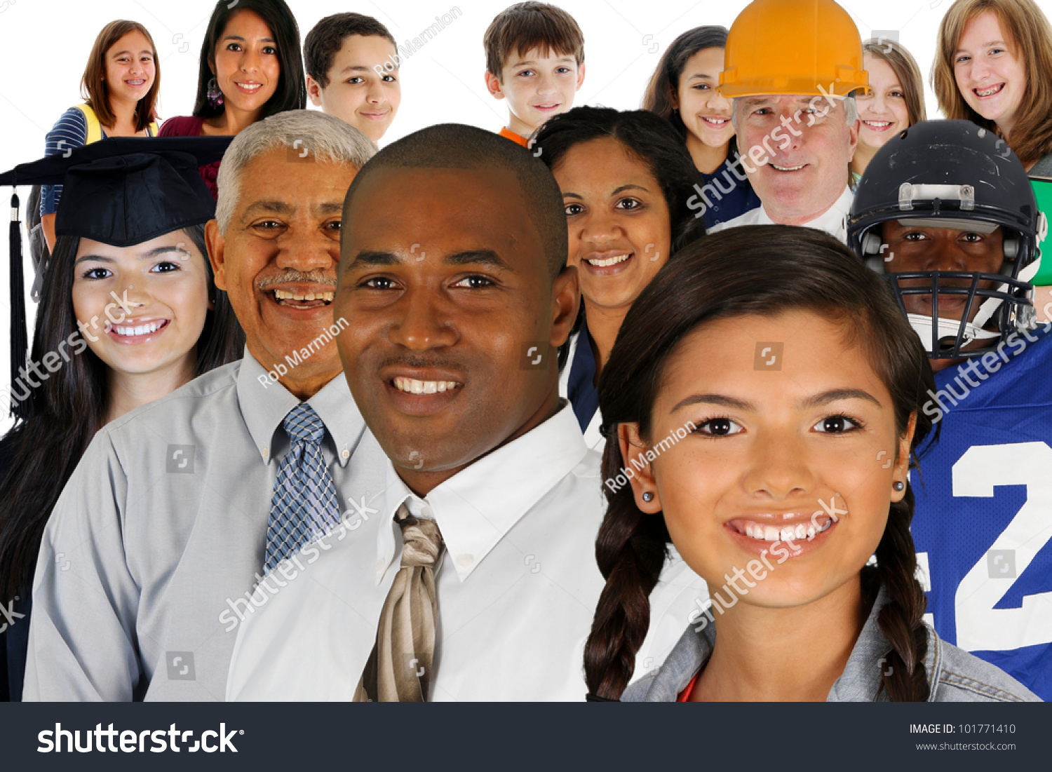 People Of All Different Races And Professions Stock Photo 101771410