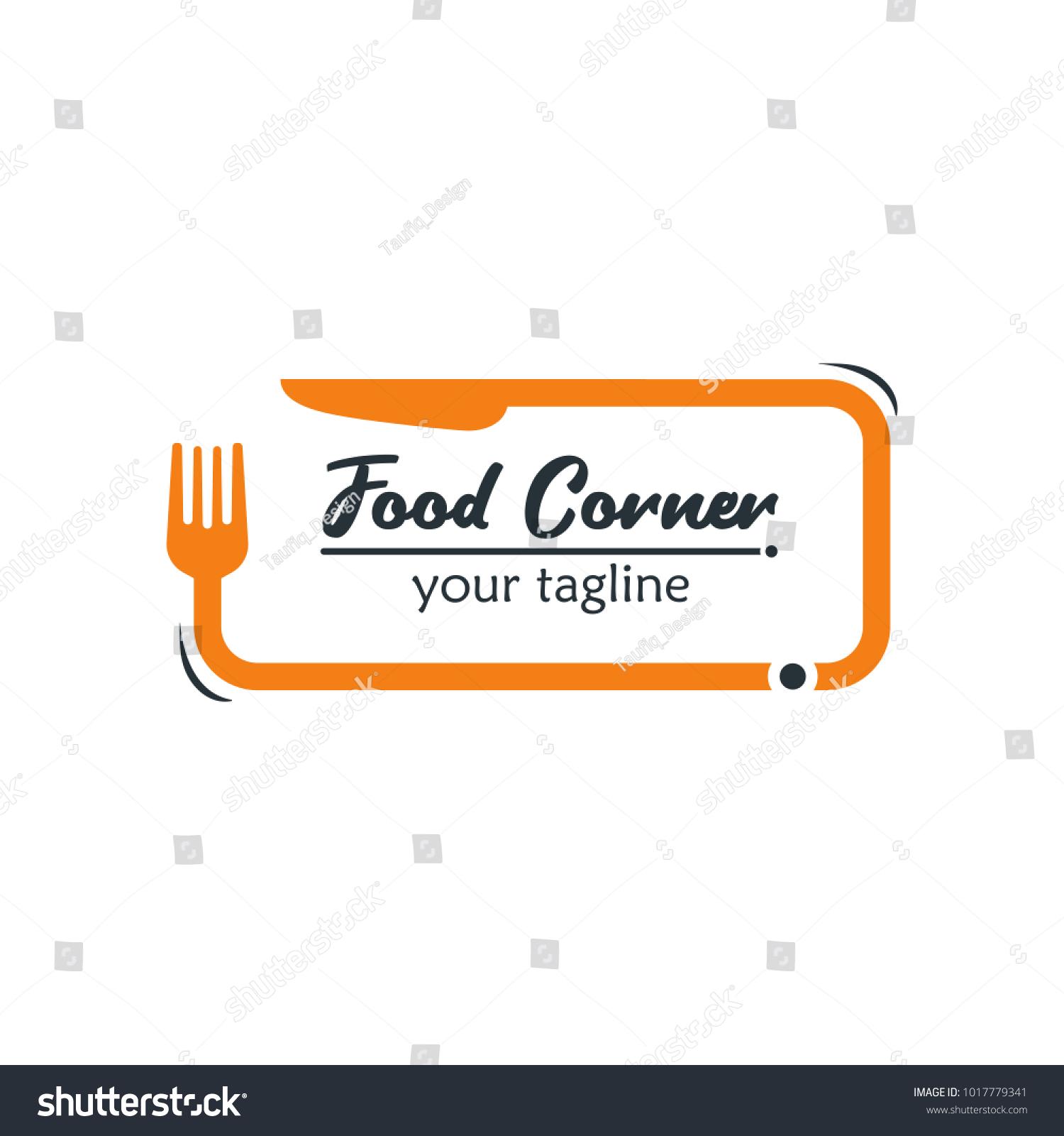 Modern food logo design template vector em vetor stock 1017779341 modern food logo design template vector illustration suitable for summer celebration restaurant logo stopboris Images