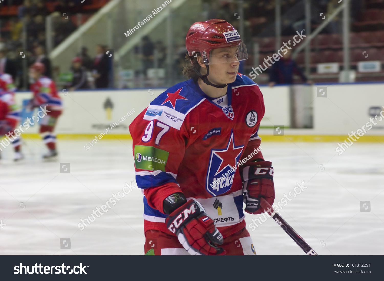 Moscow January 31 Forward Cska Team Stock Photo 101812291 ...