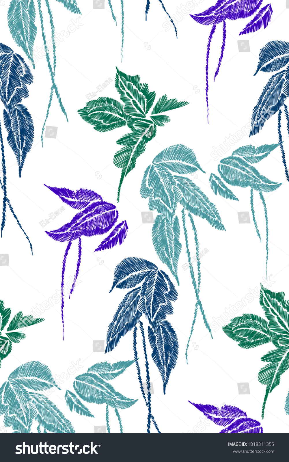 Tropical Leaves Seamless Background Pattern Vector Stock Vector Royalty Free 1018311355 Tropical leaves are the perfect way to transform your home into an island oasis and there are plenty of ways to do it! shutterstock