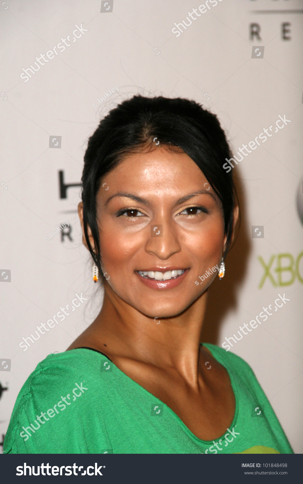 Tinsel Korey Launch Halo Reach Presented Stock Photo (Edit Now