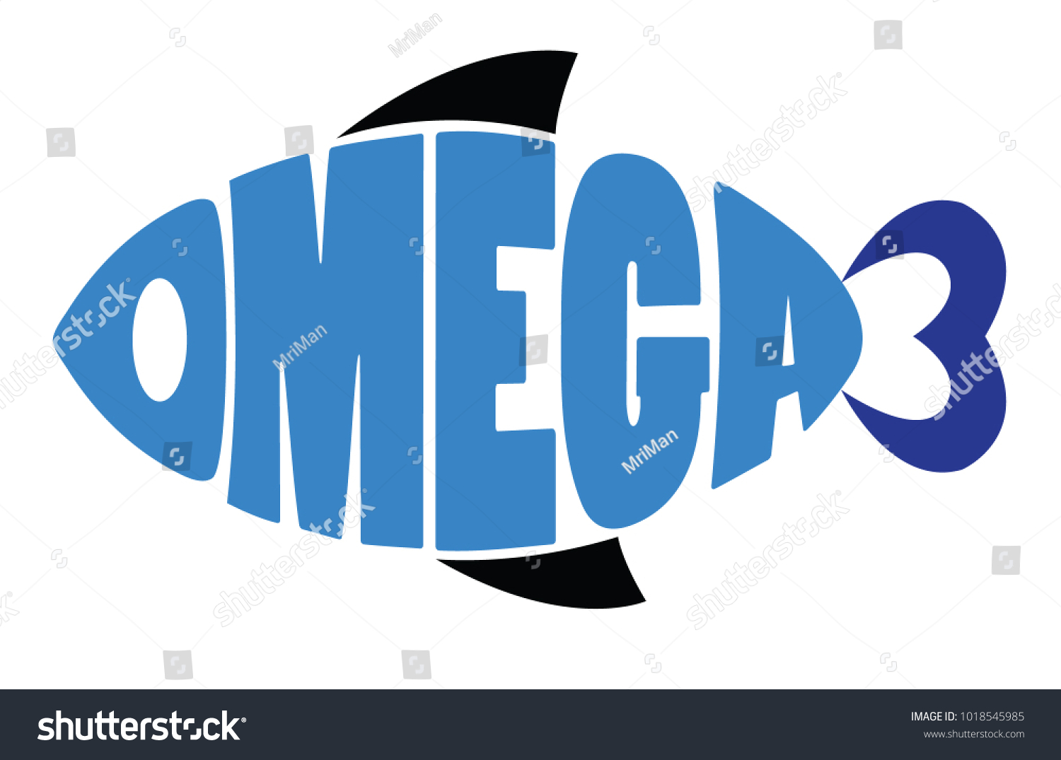 Word omega 3 shaped fish symbol stock vector 1018545985 shutterstock word omega 3 shaped in fish symbol buycottarizona Gallery