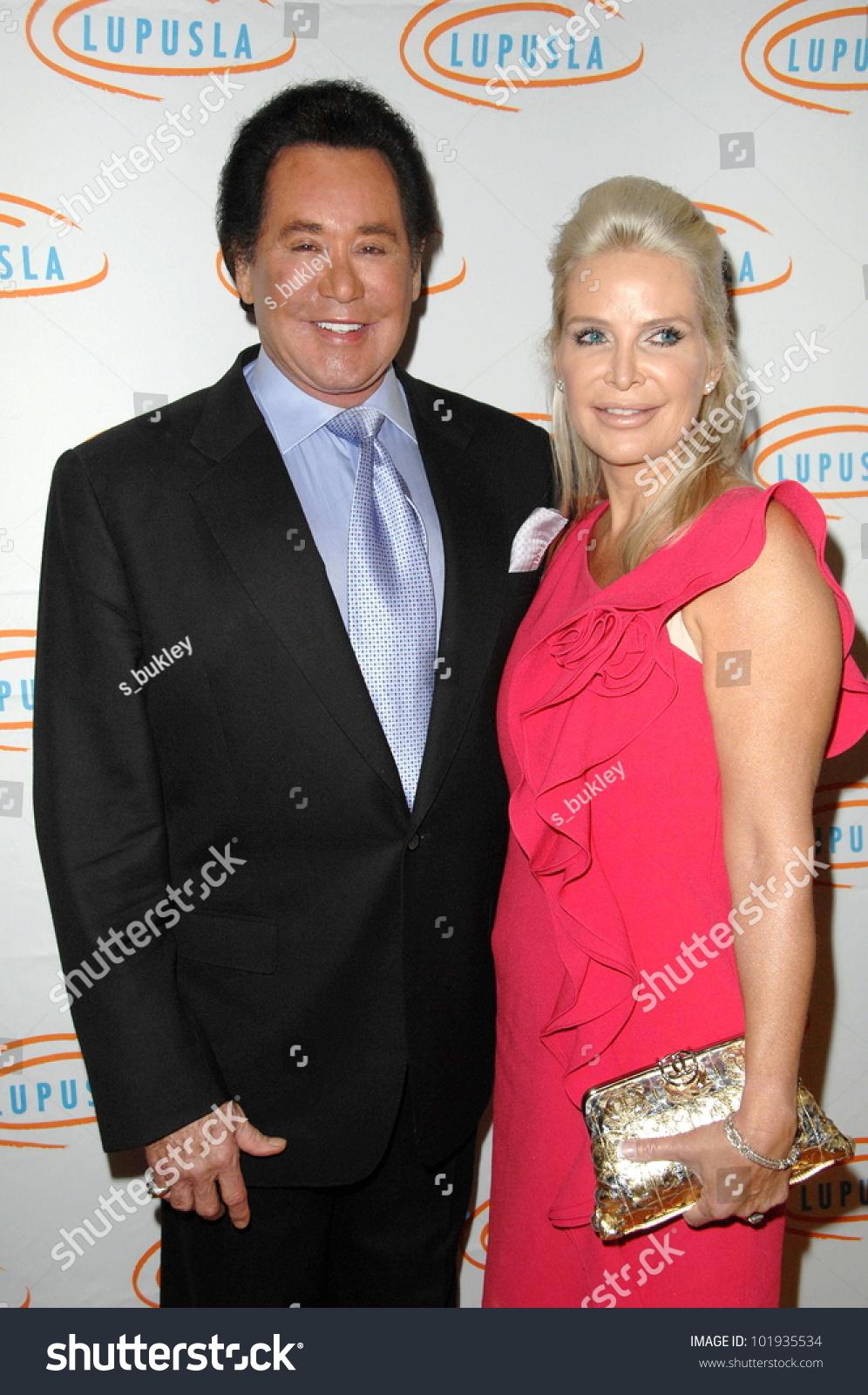 wayne newton wife kathleen mccrone 10th stock photo