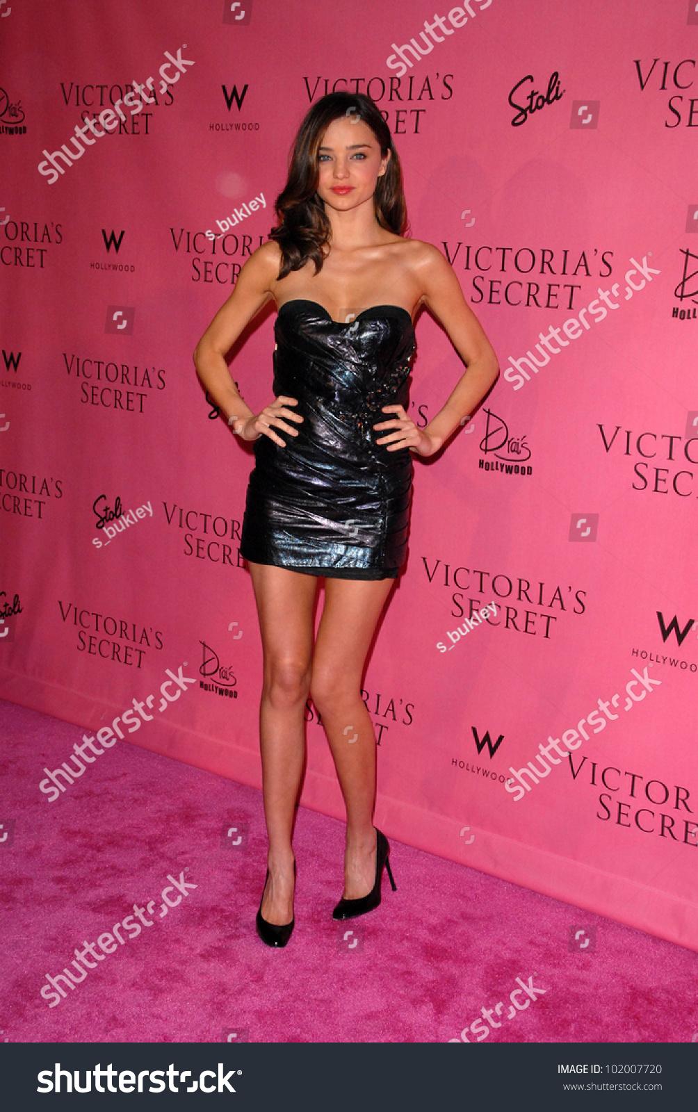 e18edd7afb Miranda Kerr at the Victoria s Secret Supermodels Celebrate the Reveal of  the 2010