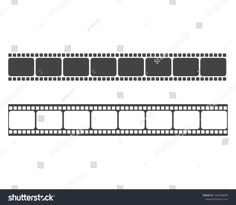abstract film icon vector illustration template のベクター画像素材