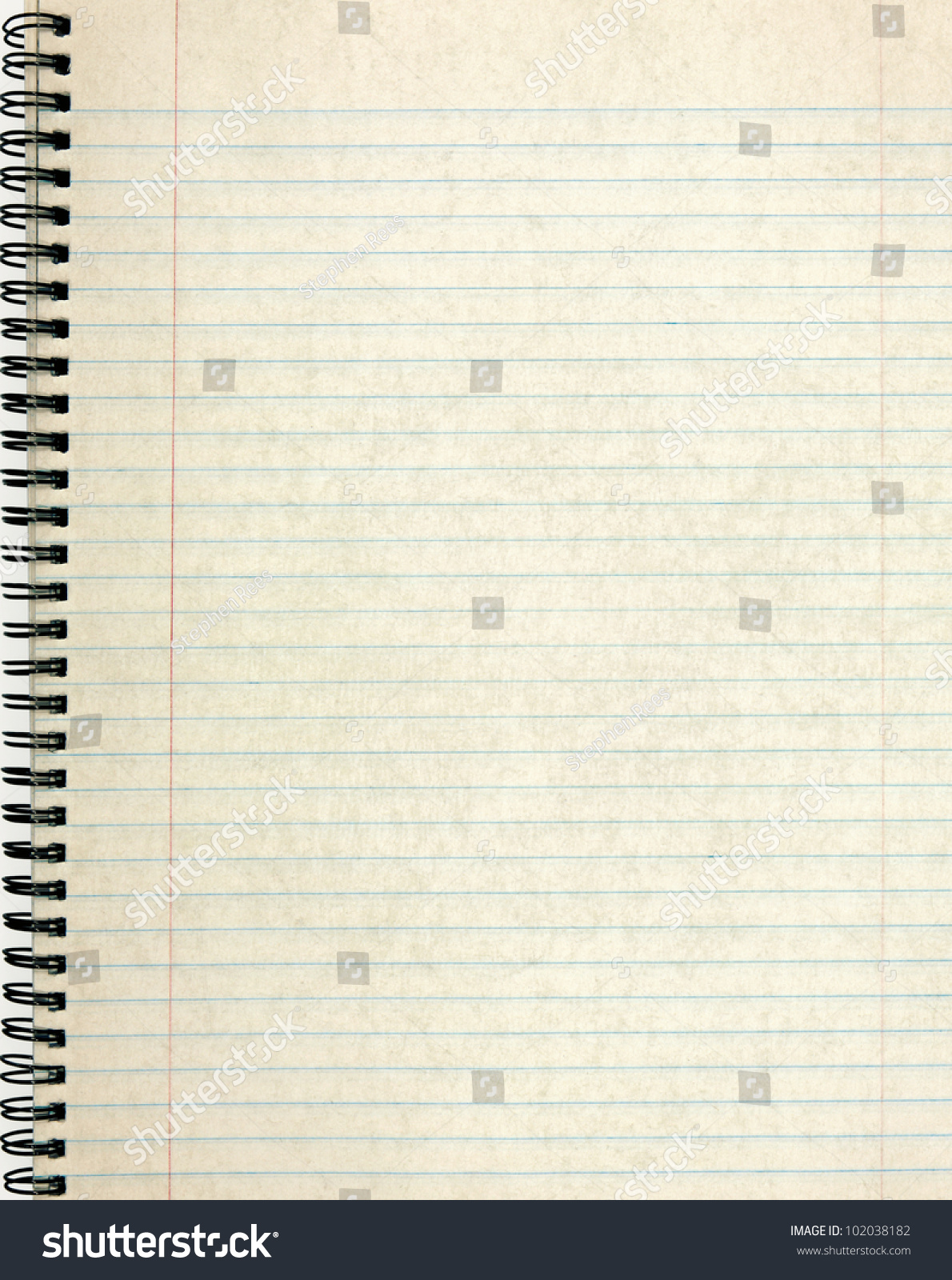 Old Notebook Page Lined Paper Photo 102038182 Shutterstock – Lined Page