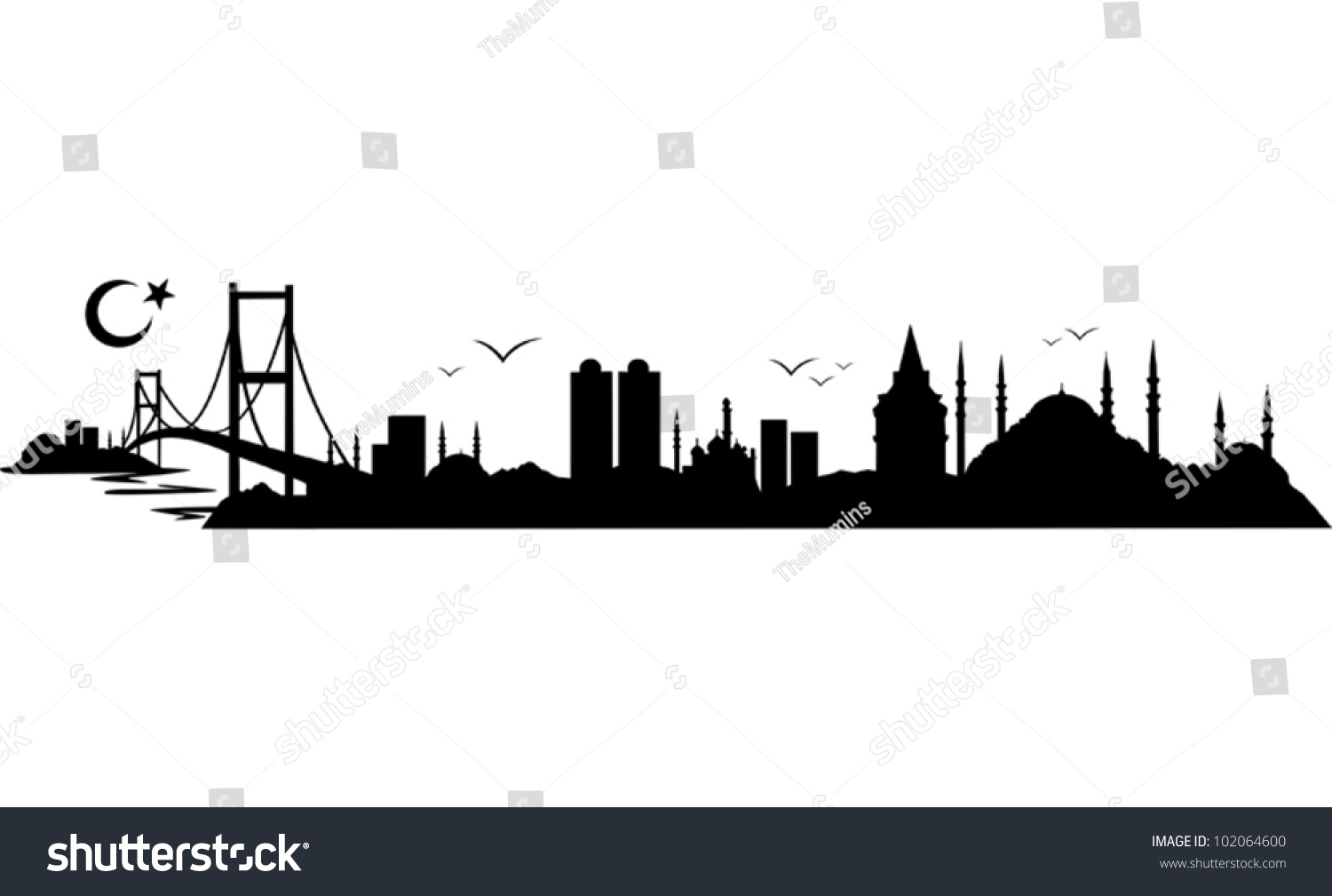 skyline istanbul stock vector 102064600 shutterstock clipart church soldiers clipart church pictures
