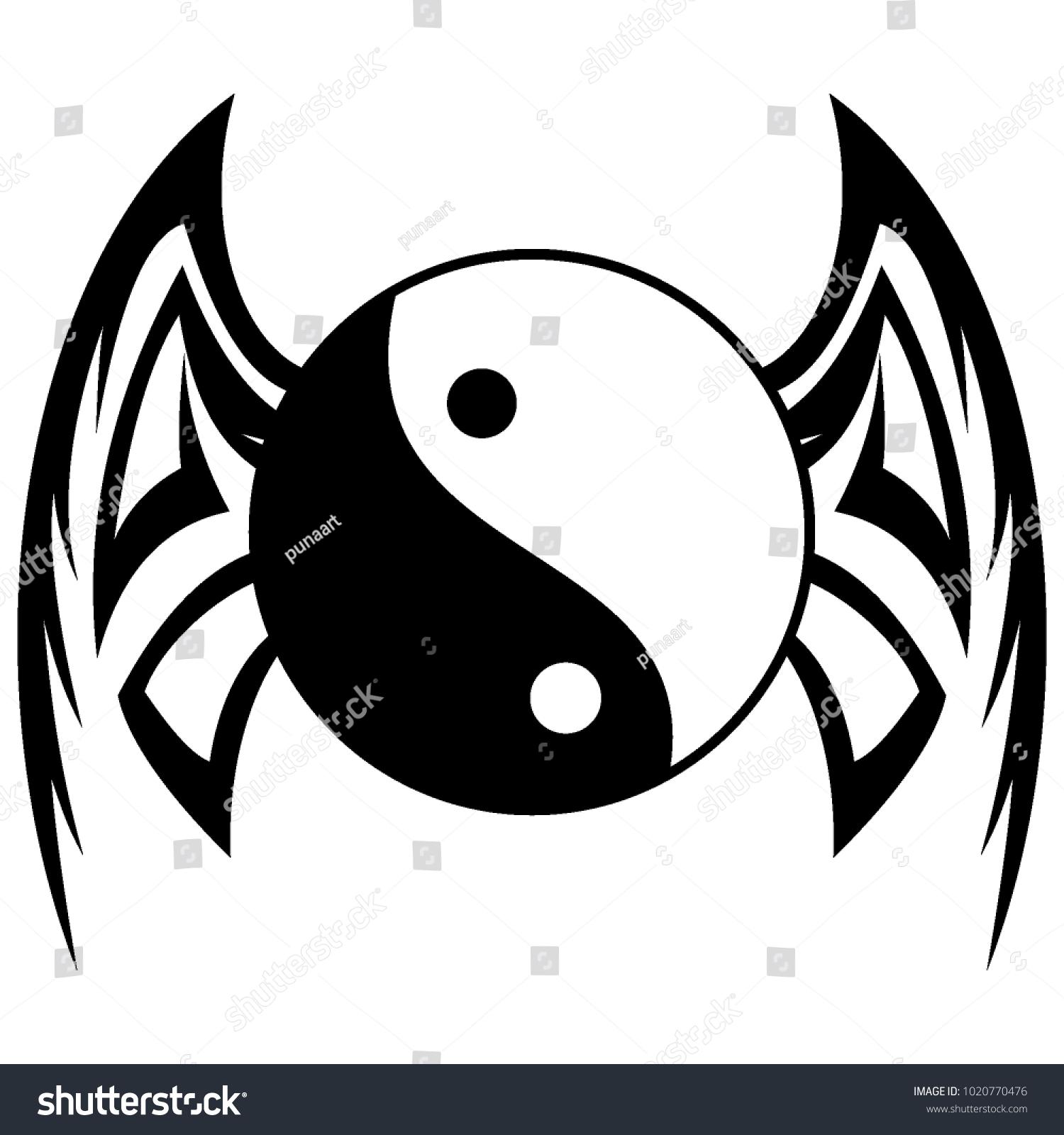 Dragon Logo Tattoo Stock Vector Royalty Free 1020770476 Shutterstock