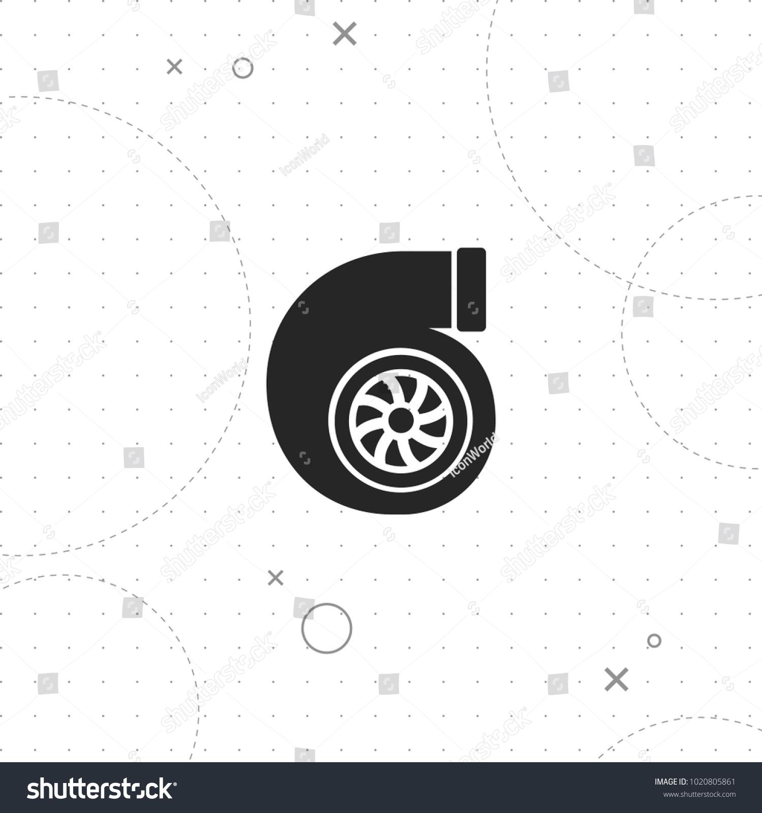 Auto turbo icon vector best flat stock vector 1020805861 auto turbo icon vector best flat icon on texture background eps 10 biocorpaavc
