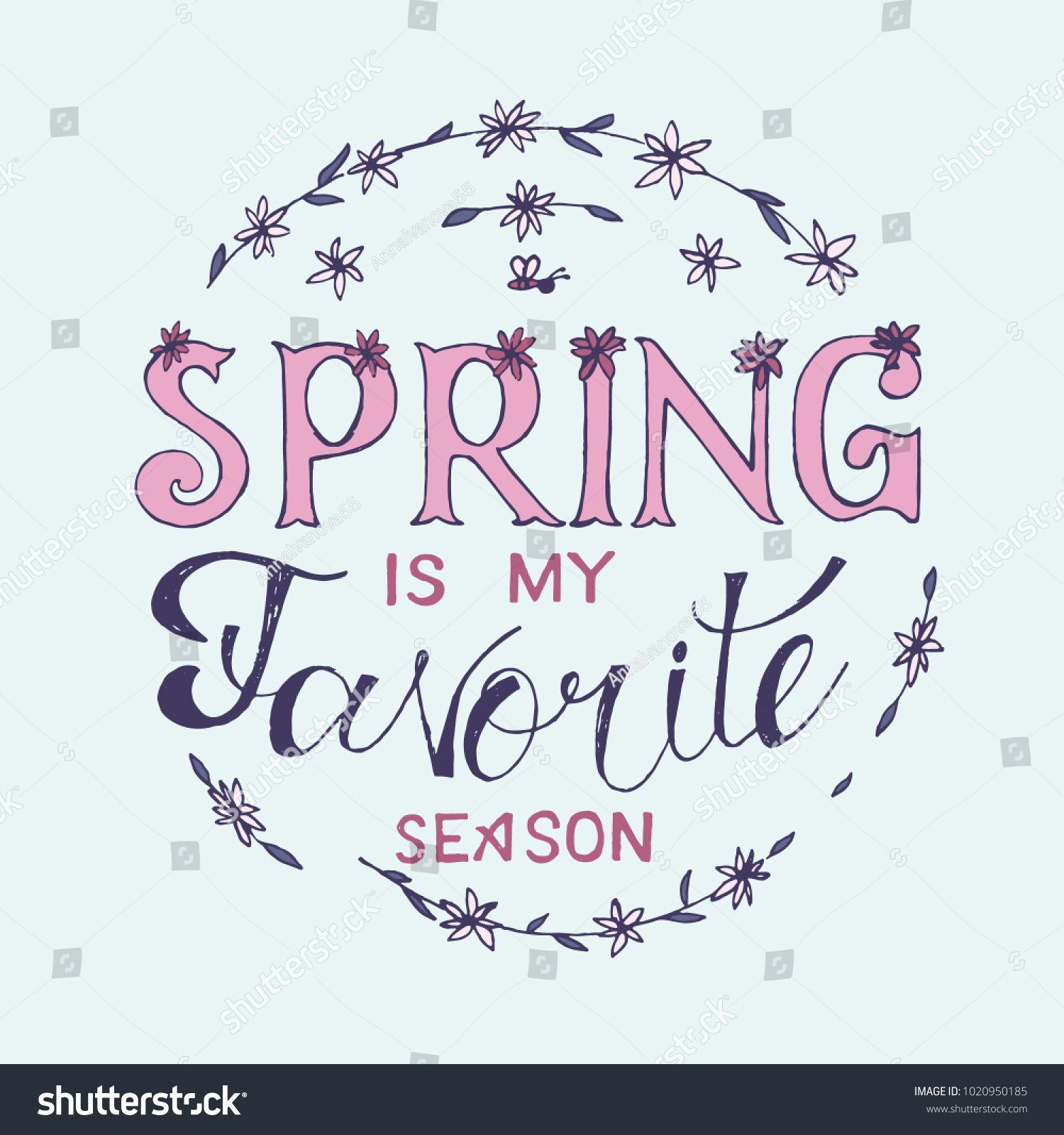 my favorite season is spring